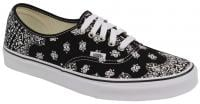 Vans Authentic Shoe - Black Bandanna / True White