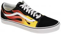 Vans Old Skool Shoe - Flame / Black / True White