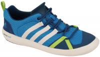 Adidas Boat Lace Shoe - Solar Blue / Chalk
