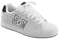 DC Character Shoe - White / Black Monogram