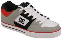 DC Pure Shoe - Grey / Black / Red