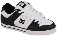DC Pure Shoe - Black / White / Black