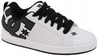 DC Court Graffik SE Shoe - White / Charcoal