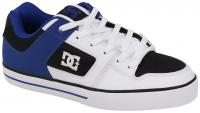 DC Pure Shoe - White / Black / Blue