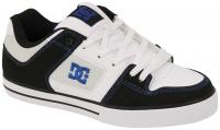DC Pure Shoe - Black / White / Blue