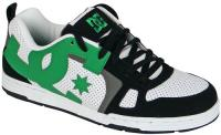 DC Major Shoe - White / Black / Emerald