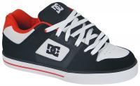 DC Pure Shoe - Black / White / Red