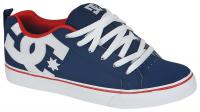 DC Court Vulc Shoe - Navy / Red