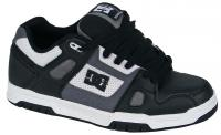 DC Stag Shoe - Black / Battleship / White