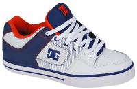 DC Pure XE Shoe - White / DC Navy / True Red