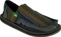 Sanuk Donny Sidewalk Surfer - Black / Yellow