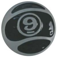 Sector 9 9-Ball Belt Buckle - Black