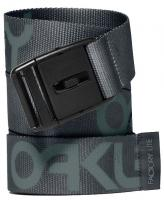 Oakley Factory Lite Web Belt - Black / Grey