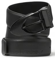 Oakley Signature Ellipse Leather Belt - Graphite