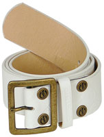 Electric Vultan Belt - White