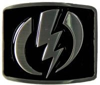 Electric Volt Belt Buckle - Black