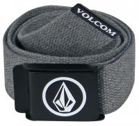 Volcom Circle Stone Webbing Belt - Charcoal Heather