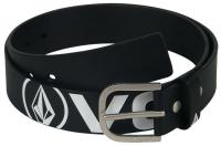 Volcom Le Strange PU Belt - Black / White