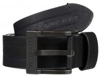 Quiksilver Stitchy III Fake Leather Belt - Black