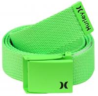 Hurley One and Only Web Belt - Neon Green