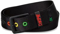 Dakine Ryder Web Belt - Black / Rasta