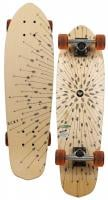 Roxy Little Indians Longboard Skateboard - Orange