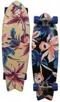Roxy Hula Swallowtail Skateboard - Blue
