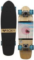 Roxy Dreaming Micro Cruiser Skateboard - Blue