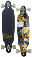 Sector 9 Carbon Decay Longboard Skateboard - Yellow