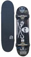 Sector 9 Jolly Roger Skateboard - Black