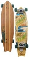 Sector 9 West Oz Longboard Skateboard - Green
