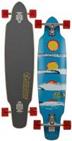 Sector 9 Horizon Longboard Skateboard - Red
