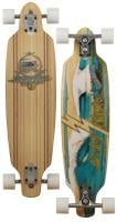 Sector 9 Shoots Longboard Skateboard - White