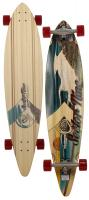 Sector 9 Madiera Longboard Skateboard - Red