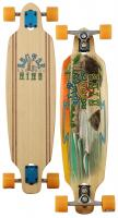 Sector 9 Shoots Longboard Skateboard - Orange