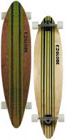 Globe Pinner Longboard Skateboard - Green / White