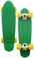 Globe Bantam Longboard - Green / White / Yellow