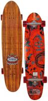 Arbor Bug Koa Longboard Skateboard - Red