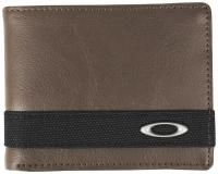 Oakley Dry Goods Leather Wallet - New Khaki