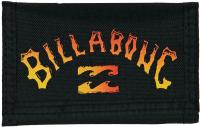 Billabong Surf Trip 3F Wallet - Black / Orange