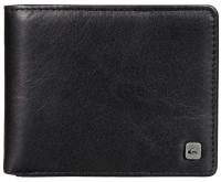 Quiksilver Macking Leather Wallet - Black