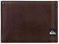 Quiksilver Double Stitch Wallet - Chocolate