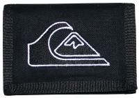 Quiksilver Main Stay Wallet - Black / White