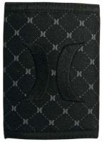Hurley Iconic Trifold Wallet - Black