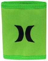 Hurley One and Only Trifold Wallet - Neon Green