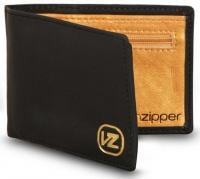 Von Zipper Player Mini Wallet - Black