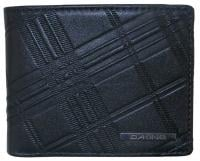 Dakine Agent Leather Wallet - Embossed Black