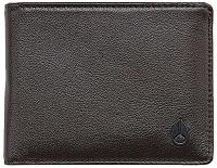 Nixon Pass Bi-fold ID Wallet - Brown