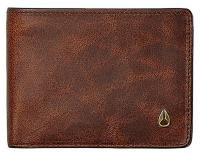 Nixon Cape SE Bi-fold Wallet - Brown