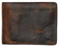 Nixon Arc SE Bi-fold Wallet - Black / Brown